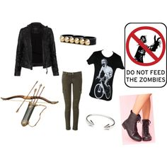 My  Zombie Apocalypse Outfit, created by hellokylee on Polyvore