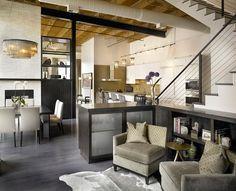 Design élégant pour un loft industriel chic