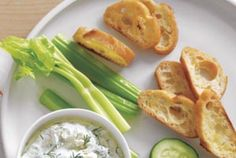 Creamy Horseradish and Dill Dip
