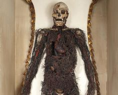 """These """"anatomical machines"""" are only one of the many strange items in this Italian crypt."""