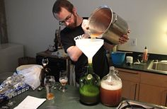 How to Brew Small-Batch Beer in Your Kitchen - Project - Food News *I disagree with some of their methodology, but the Brew in a bag part is interesting.