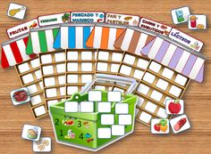 Spanish Interactive Notebook Weather Activity and Game Fall Preschool Activities, Weather Activities, Preschool Education, Vocabulary Activities, Spring Activities, Creative Activities, Preschool Worksheets, Teaching Kids, Kids Learning