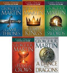 LOVE the #GameOfThrones books!