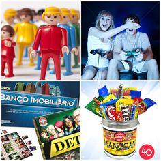 Adultos também comemoram o Dia das Crianças! #DiaDasCrianças #Adultos #brinquedos #playmobil #videogame #filmes #cinema #doces #candies #guloseimas #childrensday #children