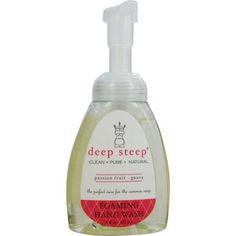 Deep Steep Passionfruit-guava Organic Foaming Hand Wash 8. Oz By Deep Steep