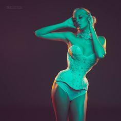 Beautiful EmmaLou Model again :-) HMUA: Kasia Trela Corset: Lady ardzesz corset Photo: Quality Pixels Photography