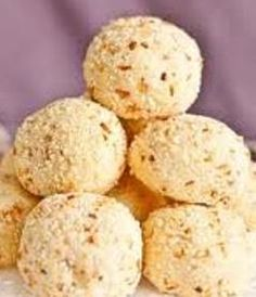 """Raskadam – resembles the name of flower """"Kadam"""". It is an Indian Sweet in which main ingredients milk and sugar. It is very famous sweet of Bengal. People in Bengal are making this Raskadam sweet on their auspicious occasion of """"Durgashtami""""."""