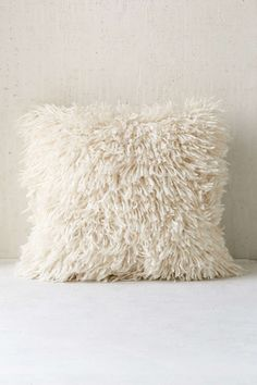 Assembly Home Shaggy Sweater Pillow #urbanoutfitters #throwpillow