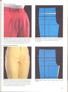 Thigh width adj Tummy adj. Bra Pattern, Pants Pattern, Sewing Pants, Sewing Clothes, Diy Fashion Hacks, T Shirt Hacks, Sewing Patterns For Kids, Clothing Hacks, Fashion Sewing