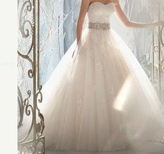 New white / ivory tulle wedding dress tutu handmade by VEILDRESS, $163.00