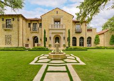 Private Residence - Mediterranean Tuscan - mediterranean - exterior - dallas - Harold Leidner Landscape Architects