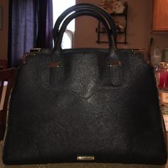 ⚡️FLASH SALE ⚡️Rebecca Minkoff Satchel The coveted Rebecca Minkoff Amorous Black Satchel with  textured leather. I purchased this beauty from another posher, love it, decided to reposh since  I have many purses. This is a gorgeous purse. No scratches, tears, stains on inside one tiny scratch on outside barely noticeable. Bags Satchels