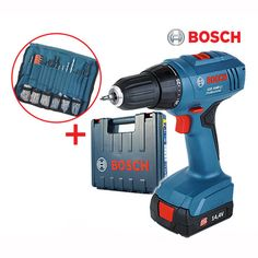 Bosch Full Set GSR 1440-LI Professional 14.4V 1.3Ah Cordless Drill Driver Kit #BOSCH bosch #power #tool #drill #codeless #charger #drive #wood #steel #new #korea #gsr1440
