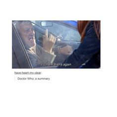 For the people who don't really know what doctor who is