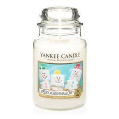 Amazon.com - Yankee Candle Large Jar Merry Marshmallow 22oz *NEW* - Merry Marshmellow Yankee Candle:$24.85 + $5.99 shipping