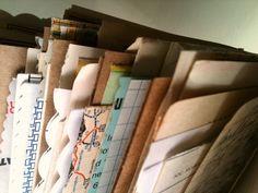 Journal, Mixed Paper, Mini, Junk Journal, Smash book, Vintage Ephemera, Collage. $8.00, via Etsy.