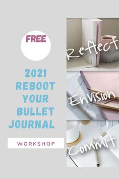 Using a bullet journal in 2021? Before you set it up, hop over here and spend a few minutes thinking about what works for you, what 2021 will bring and how you can be more consistent. #bulletjournal #2021bujo