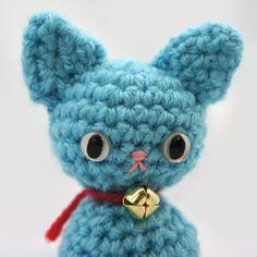 Amigurumi Kitty Mini : Violet the Nekomini - Amigurumi Kitty Cat - Available at ...