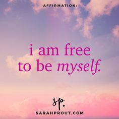 Affirmations | Sarah Prout