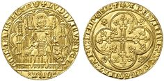 Low Countries/ Flanders AV Chaise d'or ND Malines or Ghent Mint Comte Louis De Male 1346-84