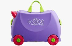 Melissa & Dave Trunki Hardcase Suitcase For Kids -- travel gear
