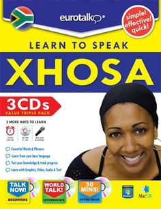 "Xhosa-is one of the official languages of South Africa. It is spoken by approximately 7.6 million people, or about 18% of the South African population. Like most Bantu languages, Xhosa is a tonal language, that is, the same sequence of consonants and vowels can have different meanings when said with a rising or falling or high or low intonation. One of the most distinctive features of the language is the prominence of click consonants; the word ""Xhosa"" begins with a click. Languages Of South Africa, Xhosa, My Passion, Meant To Be, African, Learning, Words, People, Pictures"