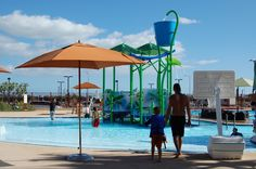 Hawaii KROC Center featuring a Vortex Elevations Poolplay Structure. #vortex, #poolplay    http://www.vortex-intl.com