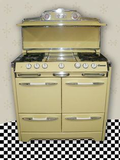 i may be obsessed with o'keefe & merritt ovens