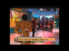 Loco Mia, en Baires Directo-Telefe Noticias 17/10/2014