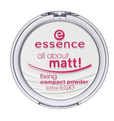 Essence · matte powder.