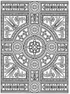 Free coloring page «coloring-adult-zen-anti-stress-to-print-parquet-patterns».
