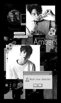 Amber J Liu, Mood Wallpaper, Iphone Wallpaper, Aesthetic People, Jonghyun, Aesthetic Wallpapers, Fan Art, Kpop, Tomboys