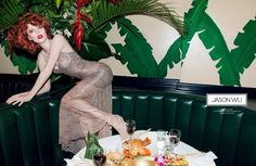 Jason Wu  Model: Karen Elson   Photographer: Inez van Lamsweerde and Vindoodh Matadin