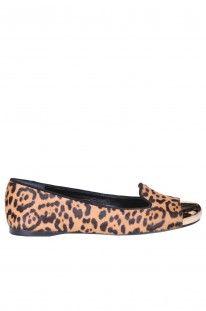 Yves Saint Laurent - Scarpe Evalyn in cavallino animalier :: Glamest Luxury Outlet Online Donna