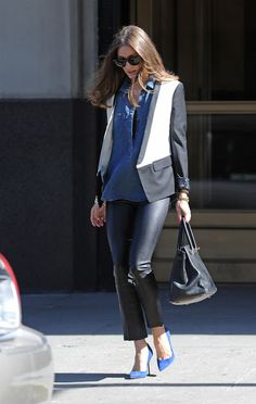 THE OLIVIA PALERMO LOOKBOOK: Olivia Palermo out and about in Brooklyn