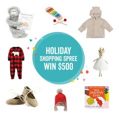 Win a $500 Holiday Shopping Spree Baby Shower Fall, Fall Baby, Coupon Queen, Baby List, Kids Zone, Enter To Win, Early Childhood Education, Big Men, Shopping Spree