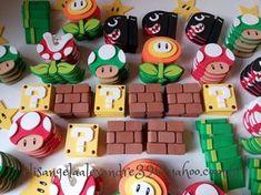 Super Mario Bros, Super Mario Birthday, Mario Birthday Party, Super Mario Party, Mario Kart, Mario E Luigi, Mario Brothers, Mario Crafts, Nintendo Party