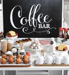 Coffee Bar | Brunch Inspiration
