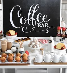Coffee Bar | Brunch Inspiration