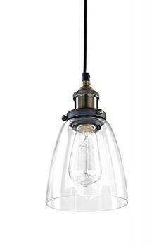 LES-YOBO-Lighting-Industrial-Edison-1-Light-Glass-Shade-Ceiling-Pendant-Light-Simplicity-0