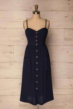 and white summer dress casual blue casual dress summer blue summer dress casual casual blue dress - blue dress casual - Summer Blue Dresses 2019 Pembroke Navy Blue A-line Midi Dress Dress Outfits, Casual Dresses, Cool Outfits, Short Dresses, Fashion Dresses, Navy Blue Dress Casual, Casual Outfits, Blue Summer Dresses, White Dress Summer