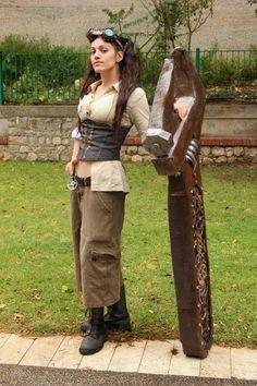 "steampunk-lady: ""Steampunk #victorian #girls #girl #cosplay """