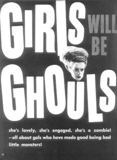 Girls Will Be Ghouls ~ flying dakini