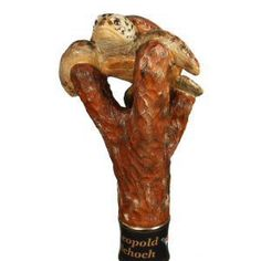 Hand carved wildlife walking stick, walking cane and hiking sticks in exotic pet and wildlife designs by Ivan Wilson of Wilson Staffs Handmade Walking Sticks, Hand Carved Walking Sticks, Walking Sticks And Canes, Walking Canes, Exotic Birds, Exotic Pets, Cane Stick, Gourd Art, Whittling