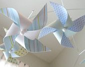 Pinwheel Baby Crib Mobile : Calm Cool and Collected