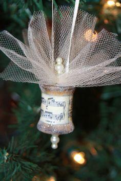 Vintage Spool Ornament