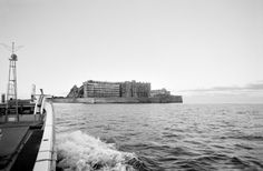 The Japanese island of Hashima was once among the most densely populated areas...
