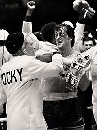 "Rocky II....""Yo Adrian! I did it!!"