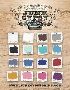 Junk Gypsy Paint - Hippie Highway - 32oz - Chalk and Clay Paint – Red Barn Company Store