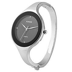 Sanwood Fashion Damenuhr Quarzuhr Armreif Damen Uhr Armbanduhr Schwarz - http://geschirrkaufen.online/sanwood/sanwood-fashion-damenuhr-quarzuhr-armreif-damen